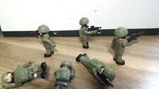 Micro Figura I 5 USA Military compartido con armas y chalecos