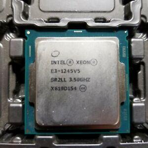 Intel Xeon E3-1245 v5 SR2LL 3.50GHz 8MB Quad Core LGA1151 CPU Processor