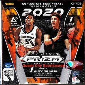 2020/21 Panini Prizm Collegiate Draft Picks Basketball Choice Box