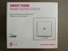 Magenta Telekom Homematic IP eQ-3 Smart Home Wandtaster 2-fach