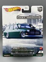 Volvo P220 Amazon Wagon * GREEN * 2021 Hot Wheels FAST WAGONS Car Culture 2021