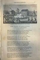 1860 Thomas Dunn English Poem The Fight At Lexington
