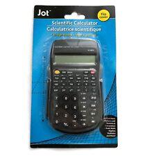 Scientific Calculator 10 Digit Display Battery Operated Flip Cover Black