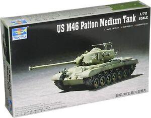 Trumpeter 7288 US M46 Patton Medium Tank 1:72 New  Free Shipping