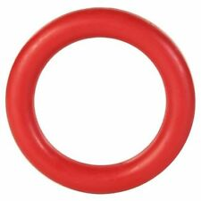 Trixie Dog Play Toy Chew Ring Natural Rubber Red 15cm