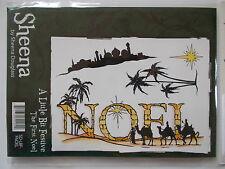 A LITTLE BIT FESTIVE - THE FIRST NOEL - STAMP SET BY SHEENA DOUGLASS