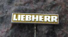 Antique Liebherr Swiss Switzerland Machine Tool Heavy Equipment Pin Badge