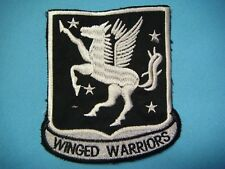 """VIETNAM WAR PATCH, US 228th ASSAULT HELICOPTER SUPPORT BN """"WINGED WARRIORS"""""""