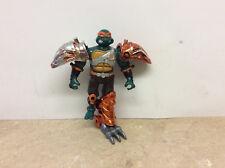 1995 Playmates TMNT Metal Mutants Michelangelo Action Figure W/ Parts! See Pics!