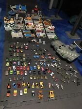 Micro machines full travel city 1987 collection, 135+ vehicles, 87-89 playsets