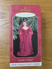 "Hallmark - ""Scarlett O'Hara"" Red Dress Christmas Ornament - 1997"