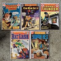 CLASSIC WESTERN ACTION Comic Book Lot Of 5 All #1 Issues 1968-1977 DC Comics