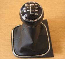 Gear Shift perilla de 5 Velocidades Polaina + Vw Golf mk5 mk6 Tiguan Eos