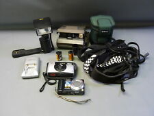 Lot Cameras & Accs Polaroid Spectra ProFlash Promaster XtraPower Untested AS IS