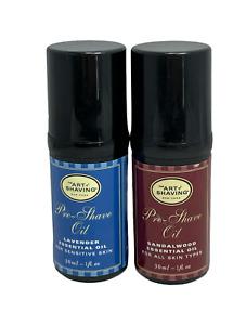 The Art Of Shaving Pre-Shave Oil Lavender/Sandalwood Essential Oil 1oz. You Pick