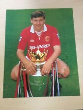 "Andrei Kanchelskis  Manchester United Autograph 10"" X 8""  Colour Football Photo"