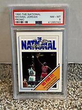 1990 The National PROMO - MICHAEL JORDAN - PSA 8 NM-MT - Chicago BULLS