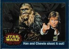 1999 Topps Star Wars Chrome Archives #20 Han And Chewie Shoot It Out!