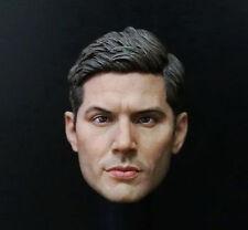 "1:6 Supernatural Dean Winchester Jensen Ackles Painted Headsculpt For 12"" Body"