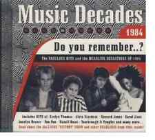 CD MUSIC DECADES Do you remember .. ? 1984  17 Titres Disco Funk