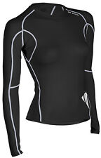 Sugoi Piston 140 L/S Women's Compression Long Sleeve Base Layer Black - Medium