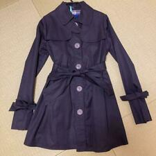 Burberry Blue Label Trench Coat Black Size M