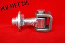 Torband, Torangel, Einstellbar mit Einschweißmutter M16,  Anschweißband