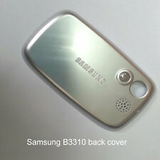 Genuine Original Samsung B3310 back cover / battery door fascia housing - Silver
