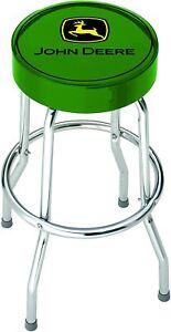 John Deere Logo Green Stool