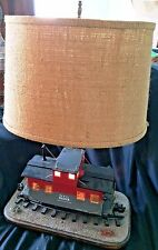 Awesome Vintage Caboose Handmade Lamp by Dean Hammer... Looks well made...