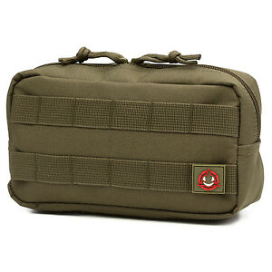 Orca Tactical MOLLE Horizontal Compact EDC Utility Pouch Bag
