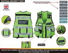 More details for hi viz tactical vest security, enforcement, cctv, dog handler tac vest