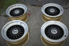 PORSCHE BBS RS012 RS013 3-PIECE ORIGINALLY GOLD MAGNESIUM WHEELS 930 911 944 928