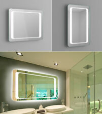 Horizontal/Vertical Wall Mounted LED Bathroom Mirror Lights IP44 Demister Sensor