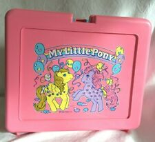 Vintage Bluebird Toys 1980's My Little Pony Lunch Box Pink Rare 1981