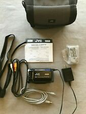 JVC Everio GZ-MG630AU 60GB HDD Video Camcorder Battery  Charging Cords Case