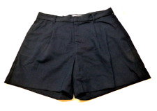 Old Navy Womens Size 10 Blue Pleated High Rise Shorts New With Tags