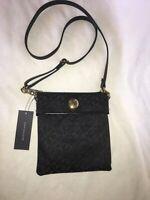 TOMMY HILFIGER ew XBody Black /gold Bag Shoulder bag New