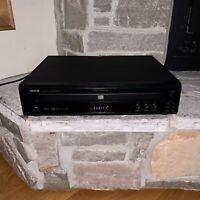 Working Denon DVM-1835 5-Disc CD/DVD Player Changer Carousel MP3 Vintage 2006