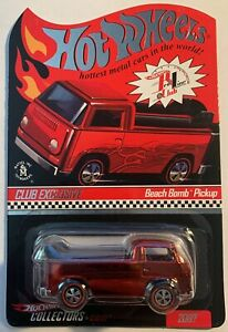 Hot Wheels Red Line Collectors Club 2007 Beach Bomb Pickup # 3536/10000