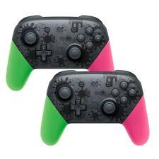 2x Wireless Bluetooth Pro Controller Gamepad Splatoon for Nintendo Switch