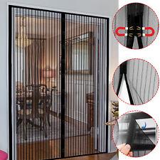 Magnet Fliegengitter Tür Fliegenvorhang Insektenschutz Balkontür Türvorhang Neu