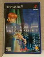 Sony PlayStation 2 Ps2 DOA2 Dead or Alive 2 Complete in Box