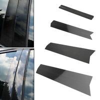 For BMW E71 2009-2014 (X6) X-Series Carbon Fiber Car Window B Pillar Trim Cover