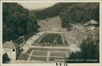 Ansichtskarte Gernsbach Murgtal Städt. Luft- Schwimmbad 1933  (Nr.9328)