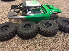 axial yeti 1/10 body and 2.2 tires wheels