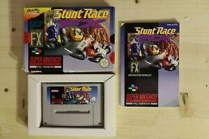 Stunt Race FX SCN Bergsala OVP/CIB boxed Super Nintendo SNES