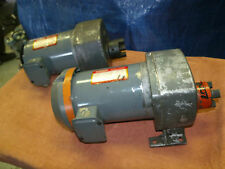 Dayton AC 3 ph. Gear Motor 60 RPM 1/2hp 208-230/460V Model 4Z391 torque 480 inLB