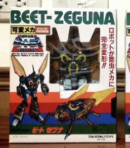 PRE TRANSFORMERS BEETRAS-03 BEET ZEGUNA(VENOM) TAKARA TAKAYOKU 1980's MADE IN JA