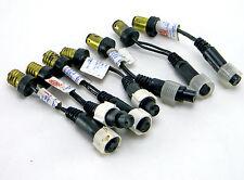 Lot Of 7 Teron Led Flex Exit String Light Lamp Connectors